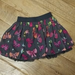 Sonoma layered skirt w/ built in shorts size 6